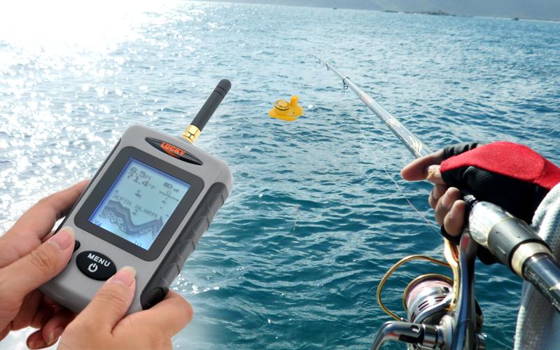 ловля рыбы с эхолотом практик летом