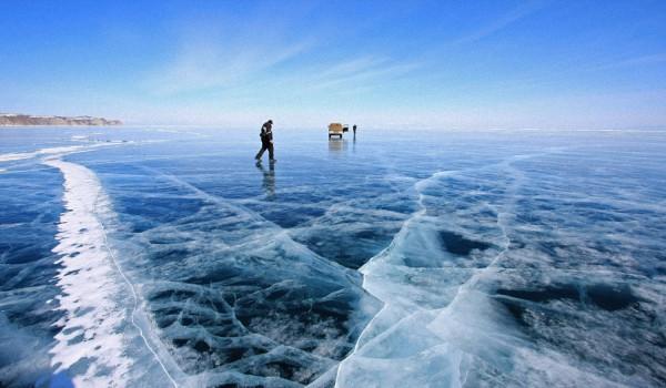 Человек на льду