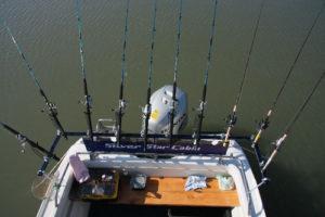Спиннинги на лодке