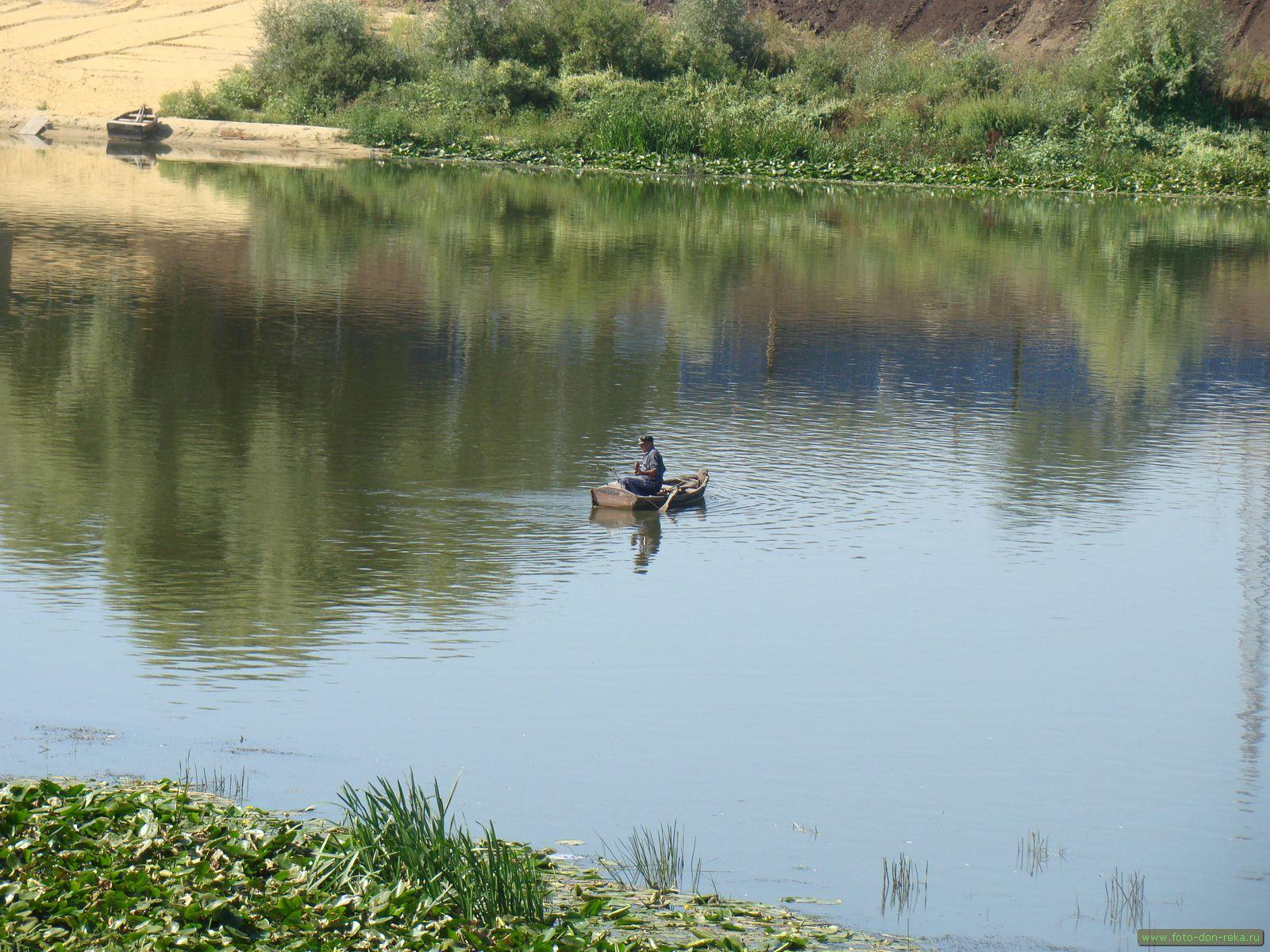 красивые места для рыбалки на дону