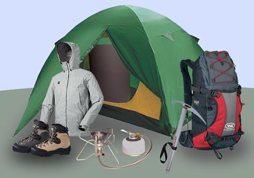 Палатка куртка рюкзак и т.д.