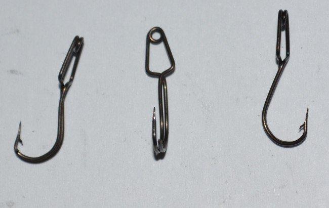 Крючок прищепка для мотыля