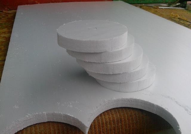 Изготовление кружков