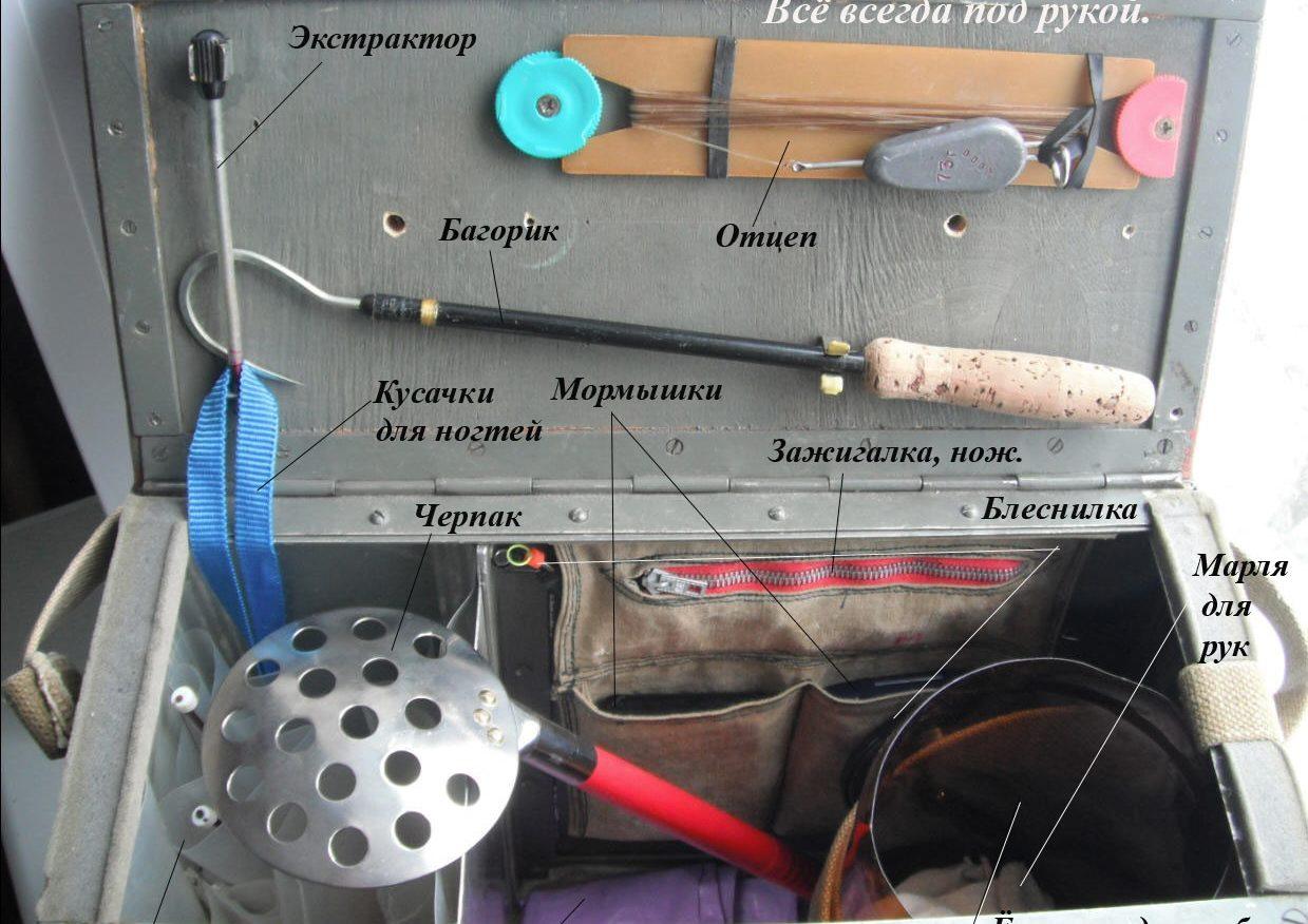 Как сделать рыболовный ящик своими руками 519