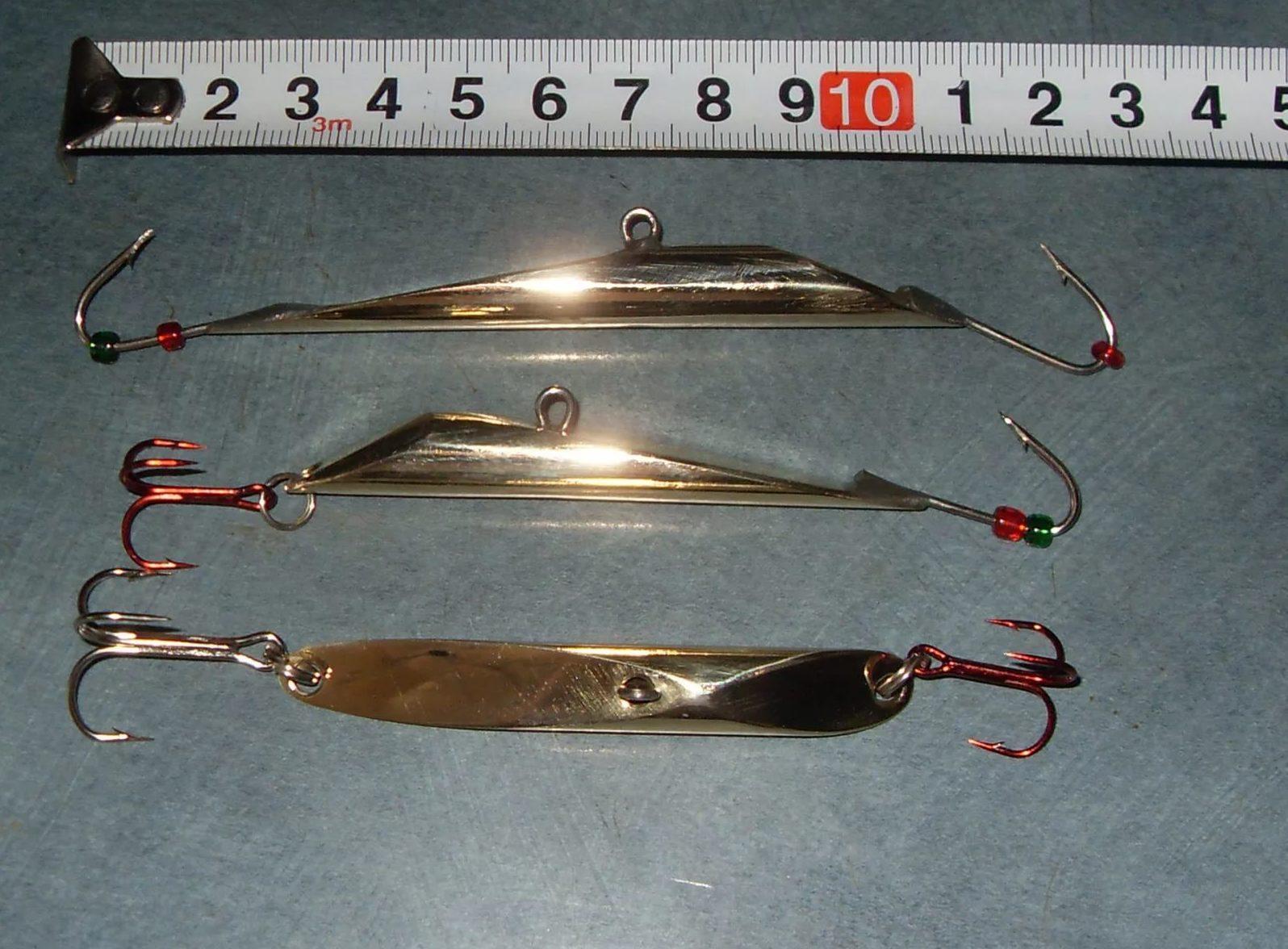 блесна колебалки для ловли судака