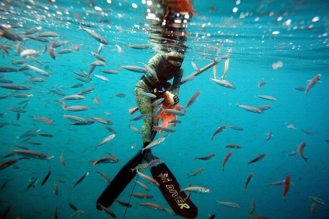 Подводный рыбак