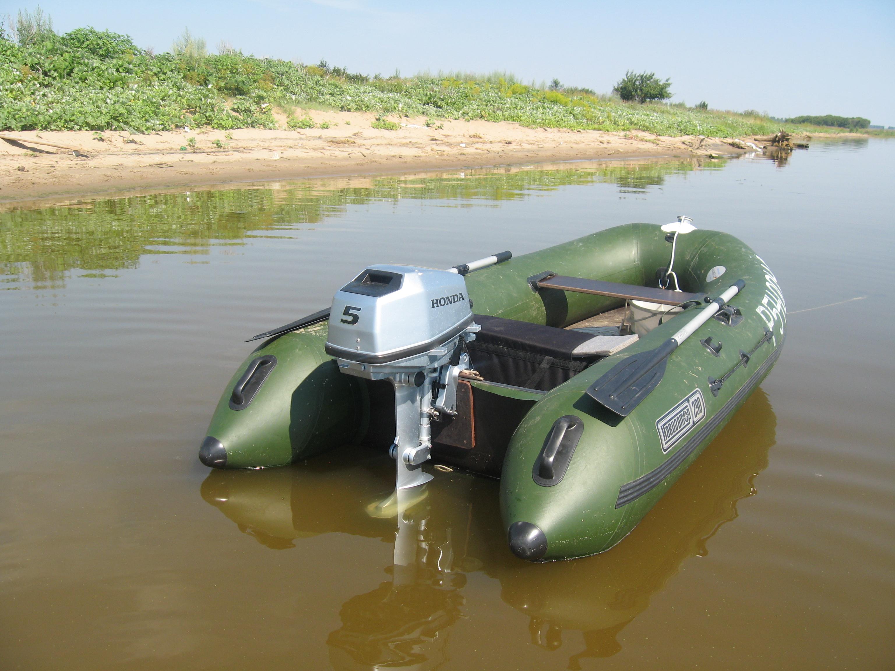 Лодка ПВХ с HONDA