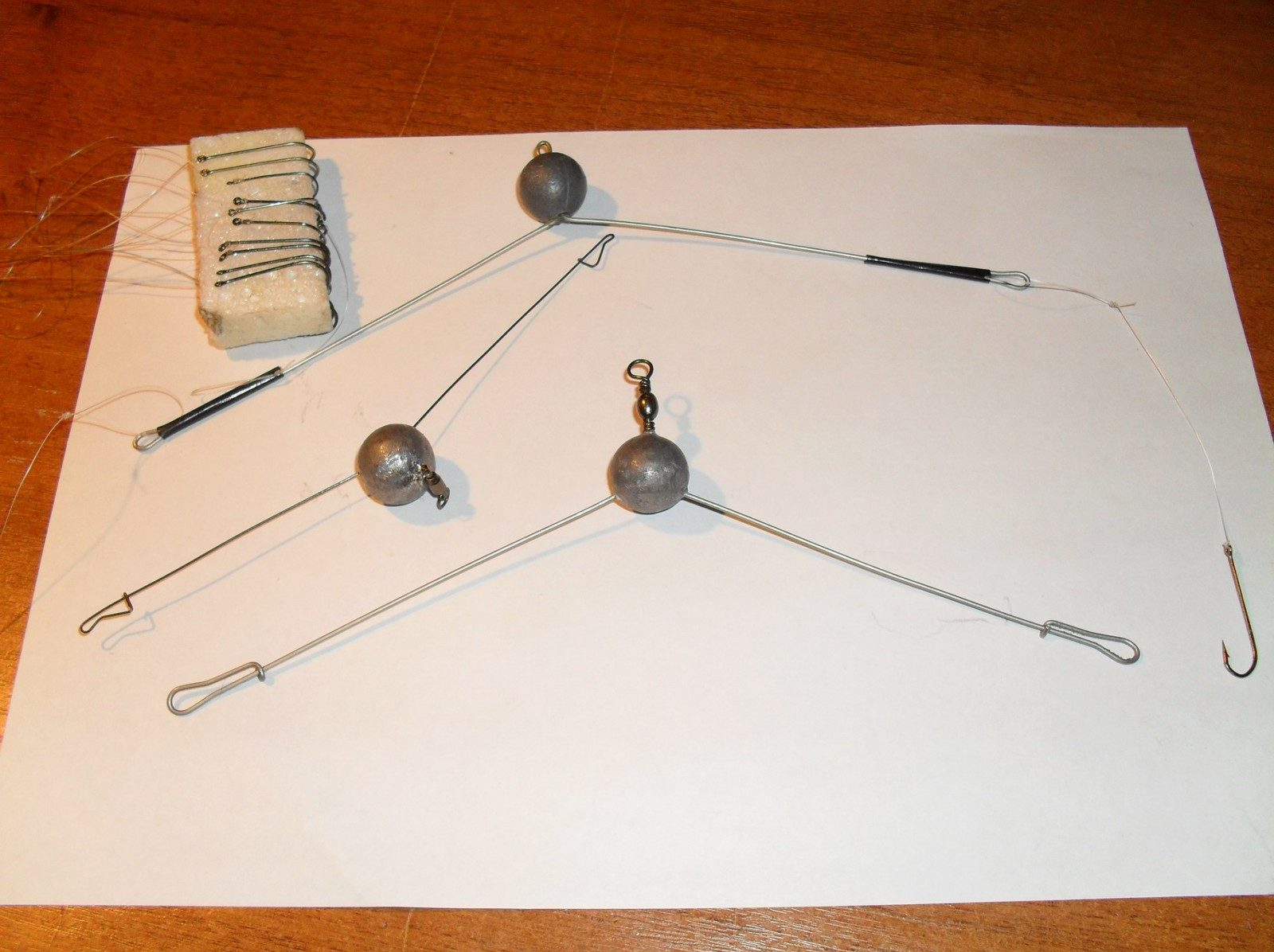Оснастка для ловли плотвы маховой