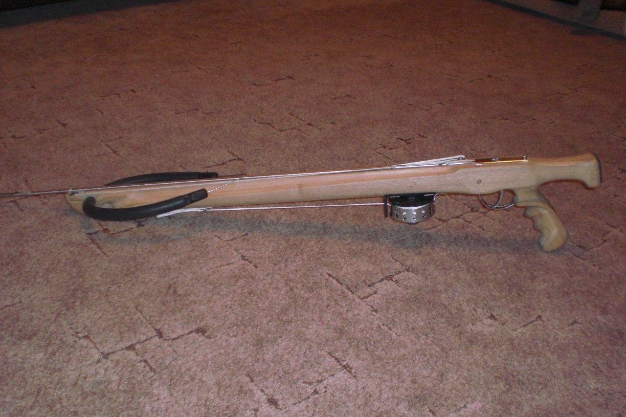 Сделать подводное ружье в домашних условиях 550