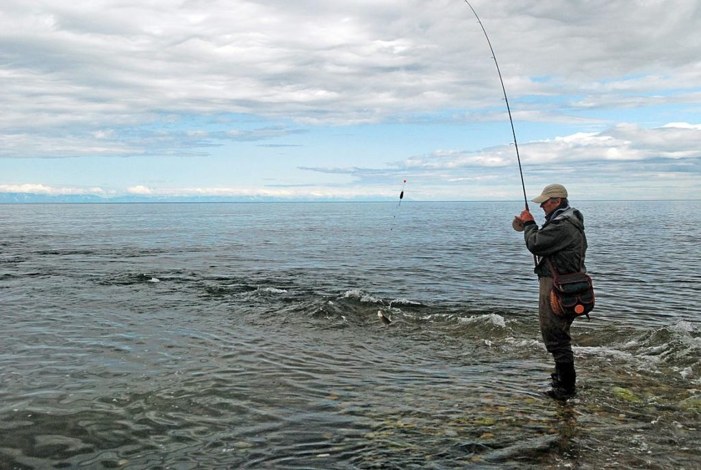 байкал рыбалка на кораблик видео