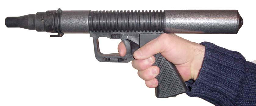 Ружьё в руке