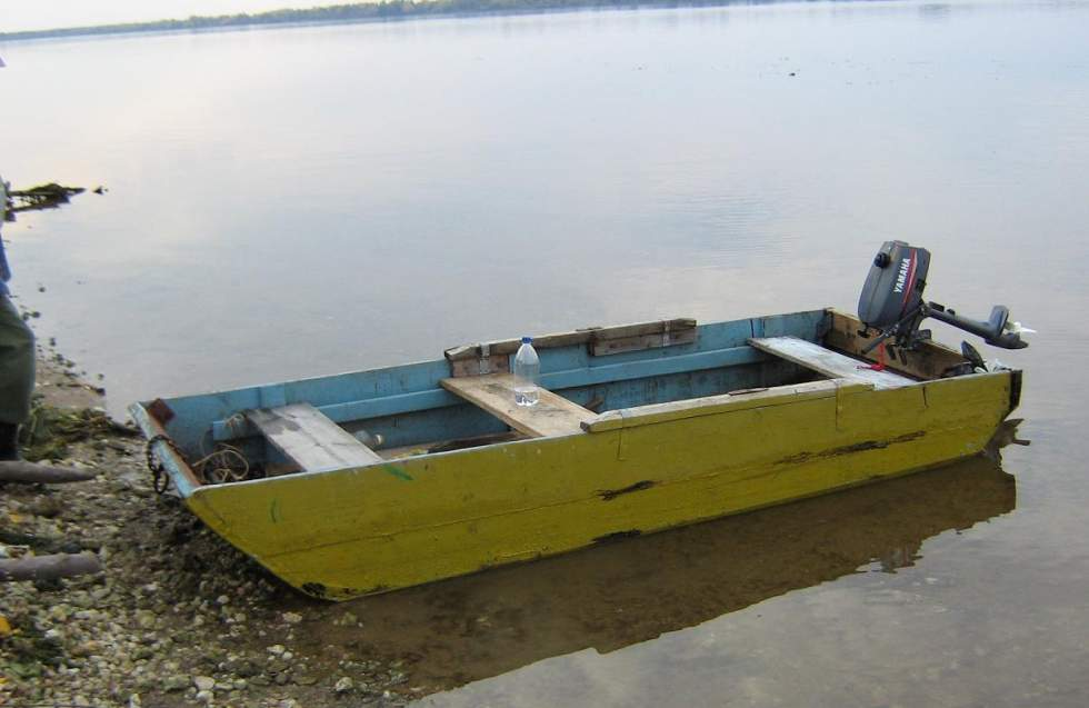 про самодельные лодки