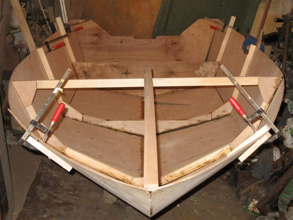 как я строил лодку часть 2