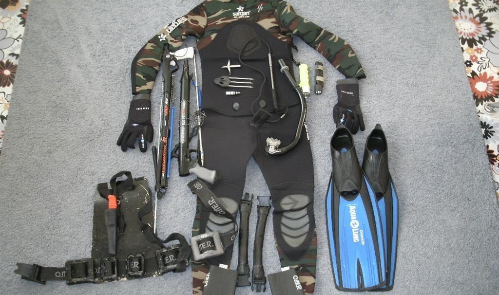 Экипировка подводного охотника