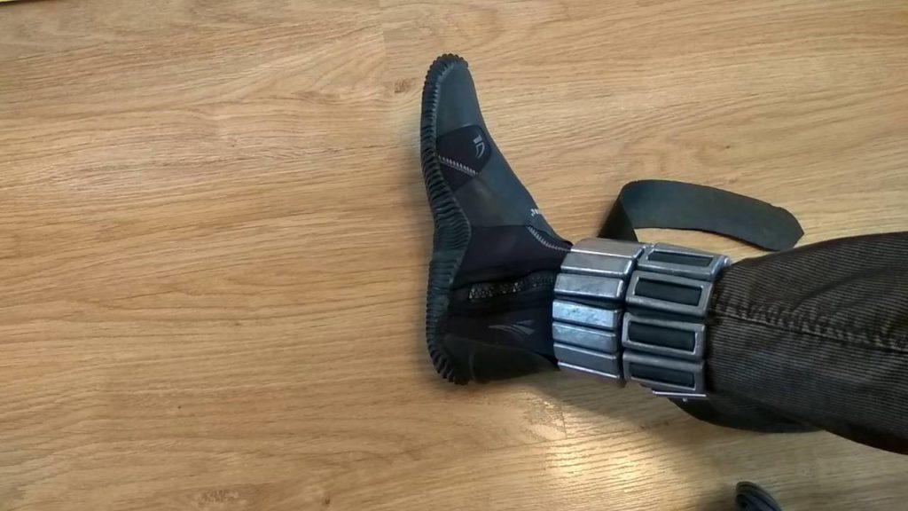 Груза для ног для подводной охоты своими руками 72
