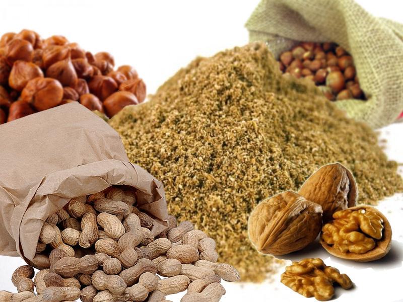 Разновидные орехи