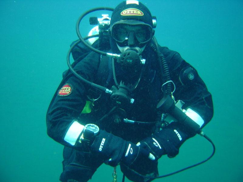 Дайвер по водой