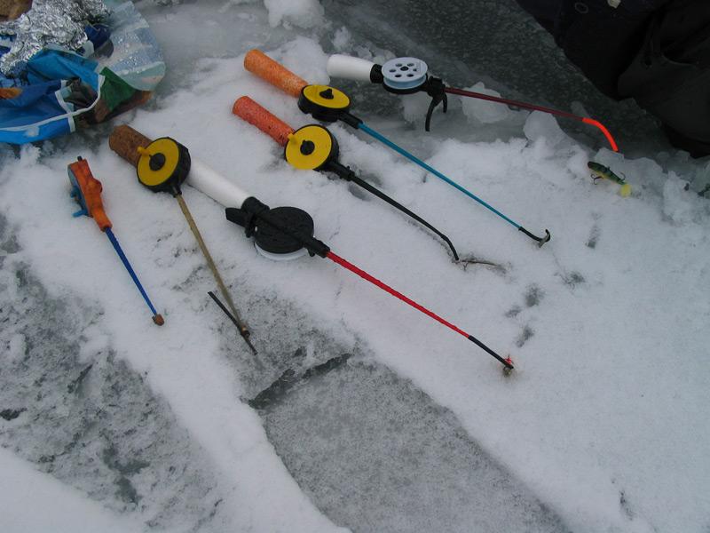Удочки для ловли зимой