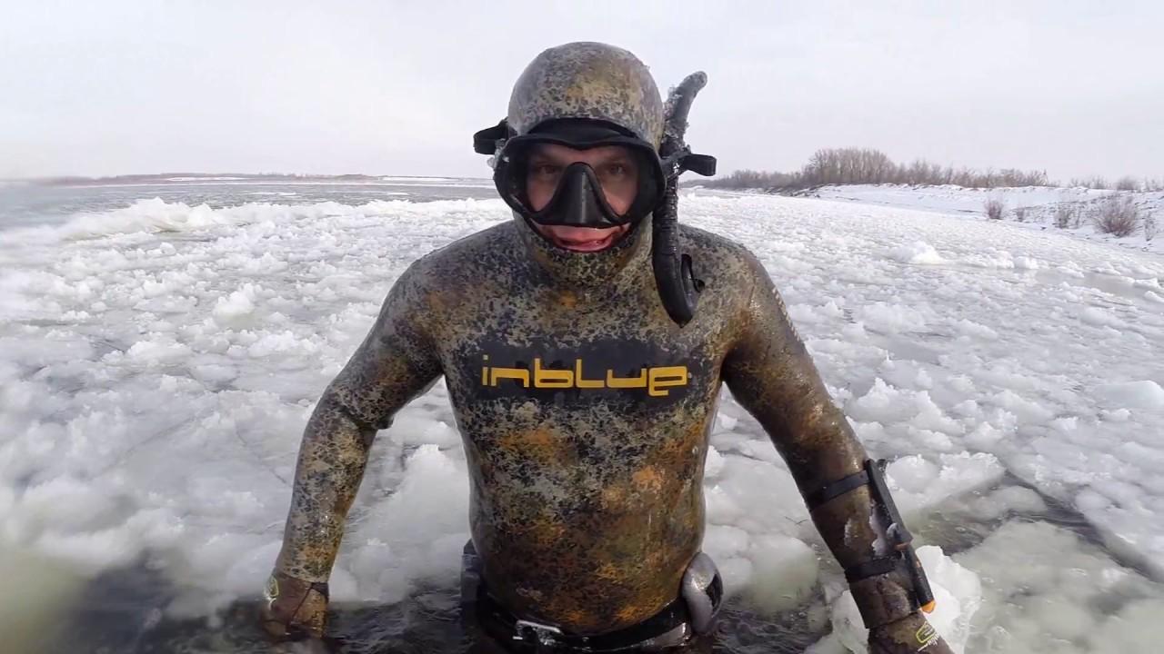 Подводный охотник во льдах