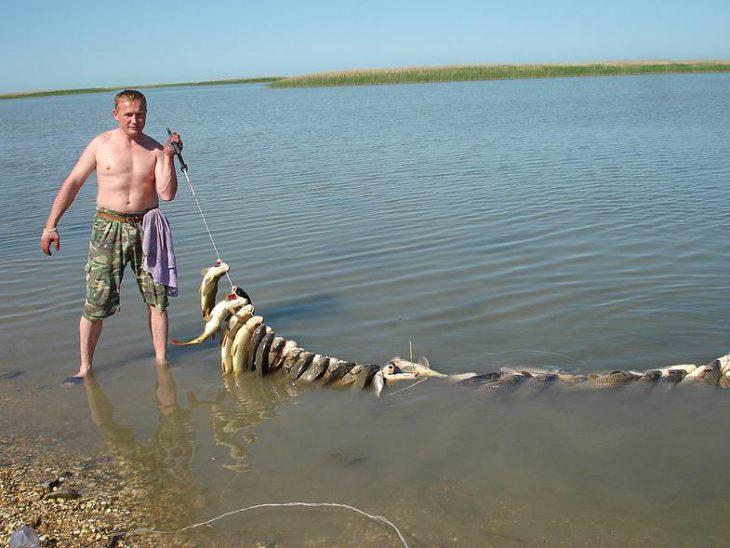 Рыбалка на каспийском море в марте
