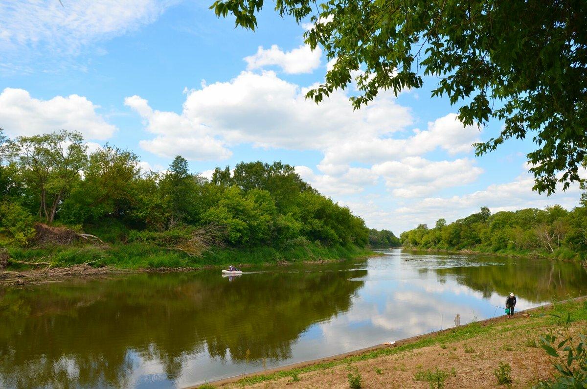Природа реки Днепр